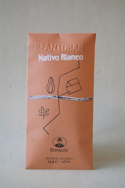 """アンティカ・ドルチェリア・ボナイユート チョコレート""""Nativo Blanco""""(45g)"""